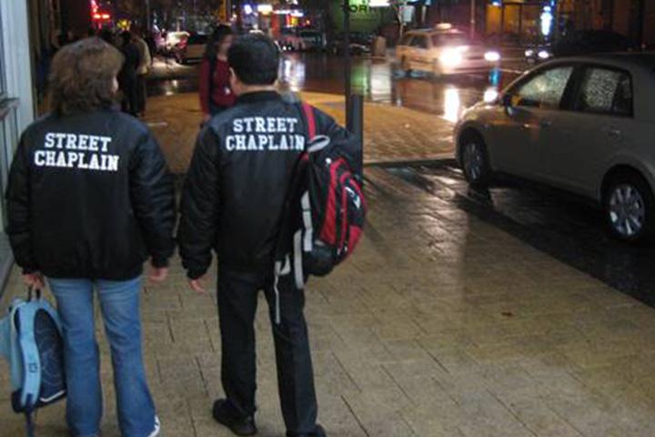 Street Chaplains in Northbridge
